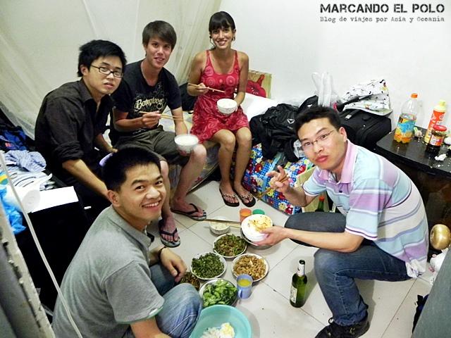 Curiosidades de China costumbre en la mesa