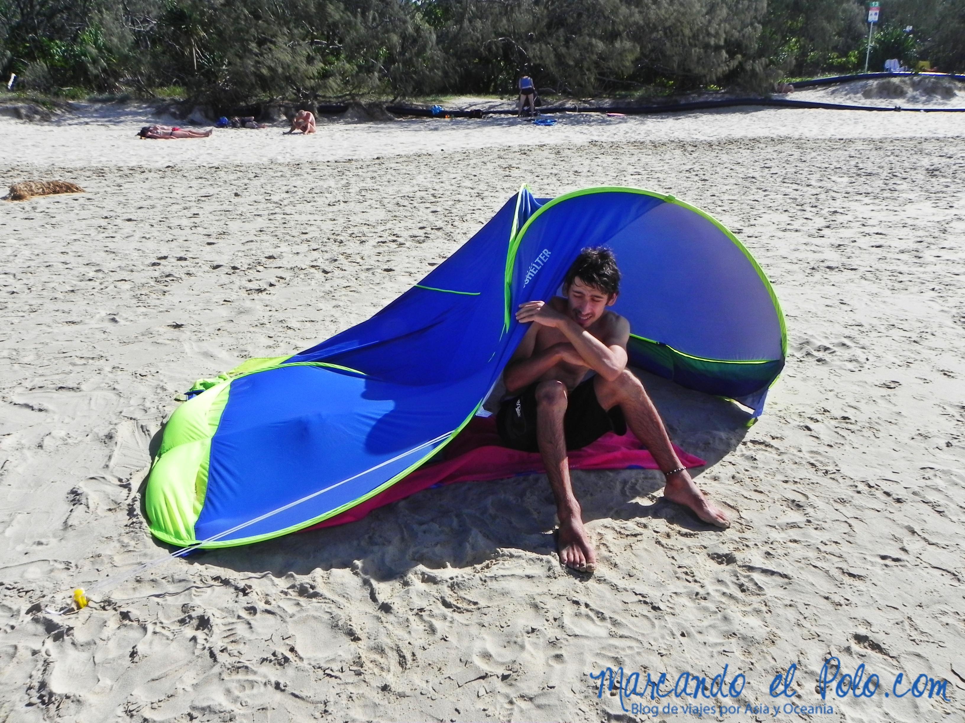 Viajar a Australia: sol fuerte