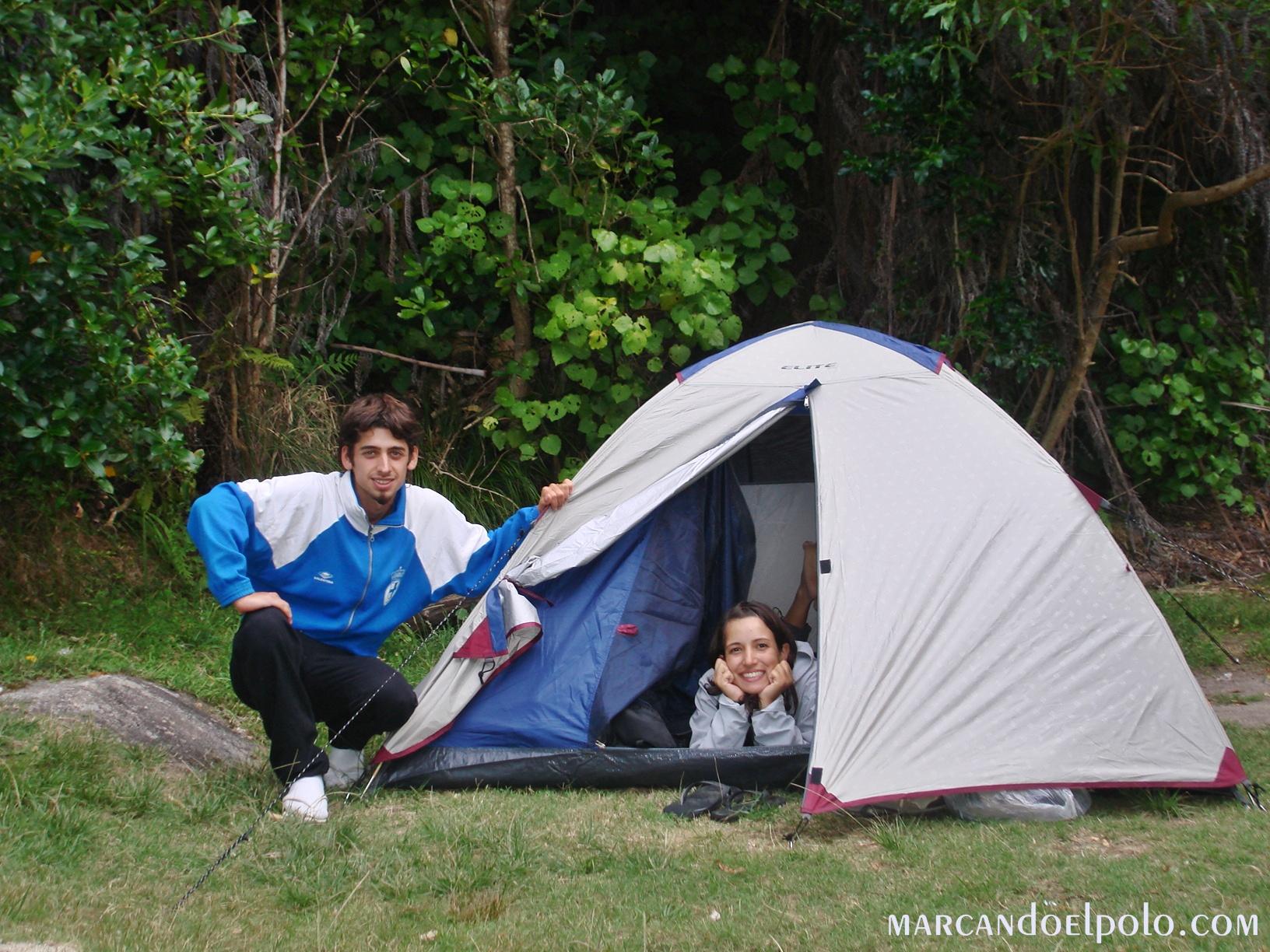 Viajar barato por Asia: acampar y compartir alojamiento