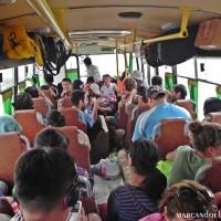 Viajando en transporte público por Mongolia