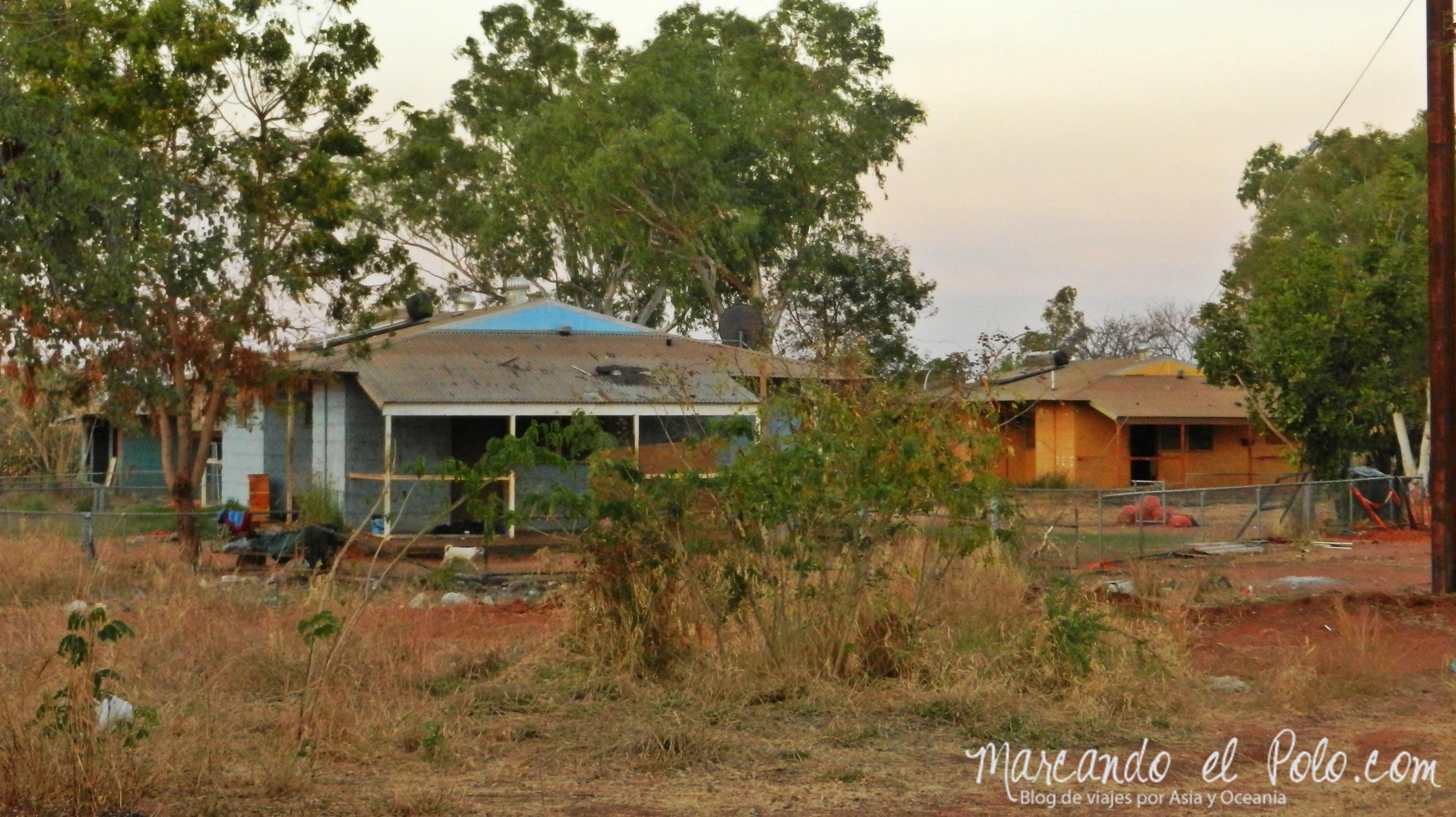 El lejano Oeste australiano: casas de Derby