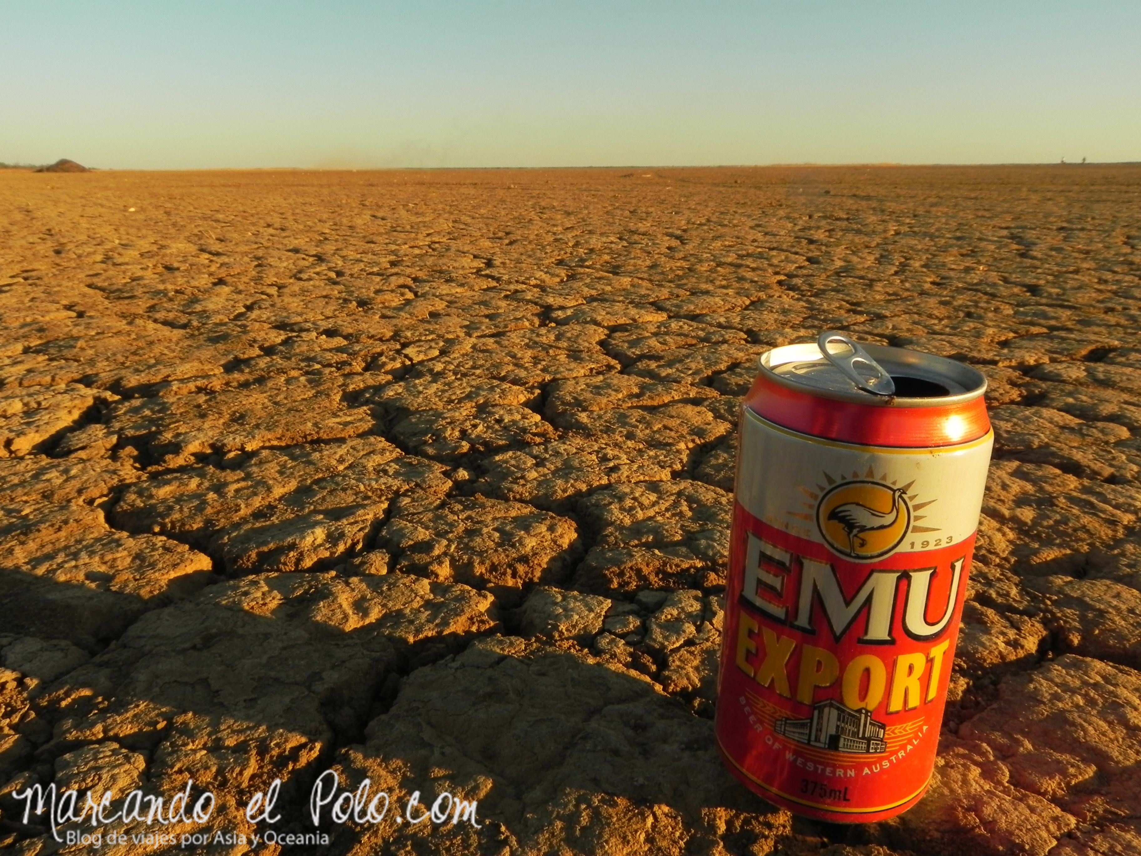 El lejano Oeste australiano: Emu beer