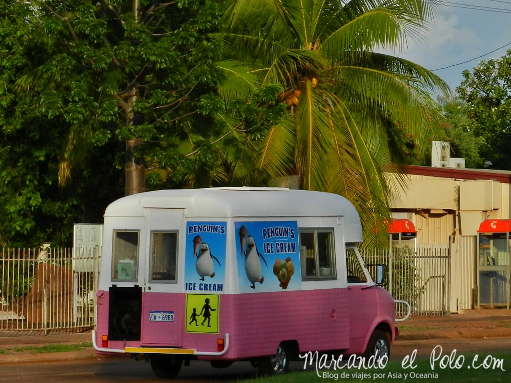 El lejano Oeste australiano: heladero