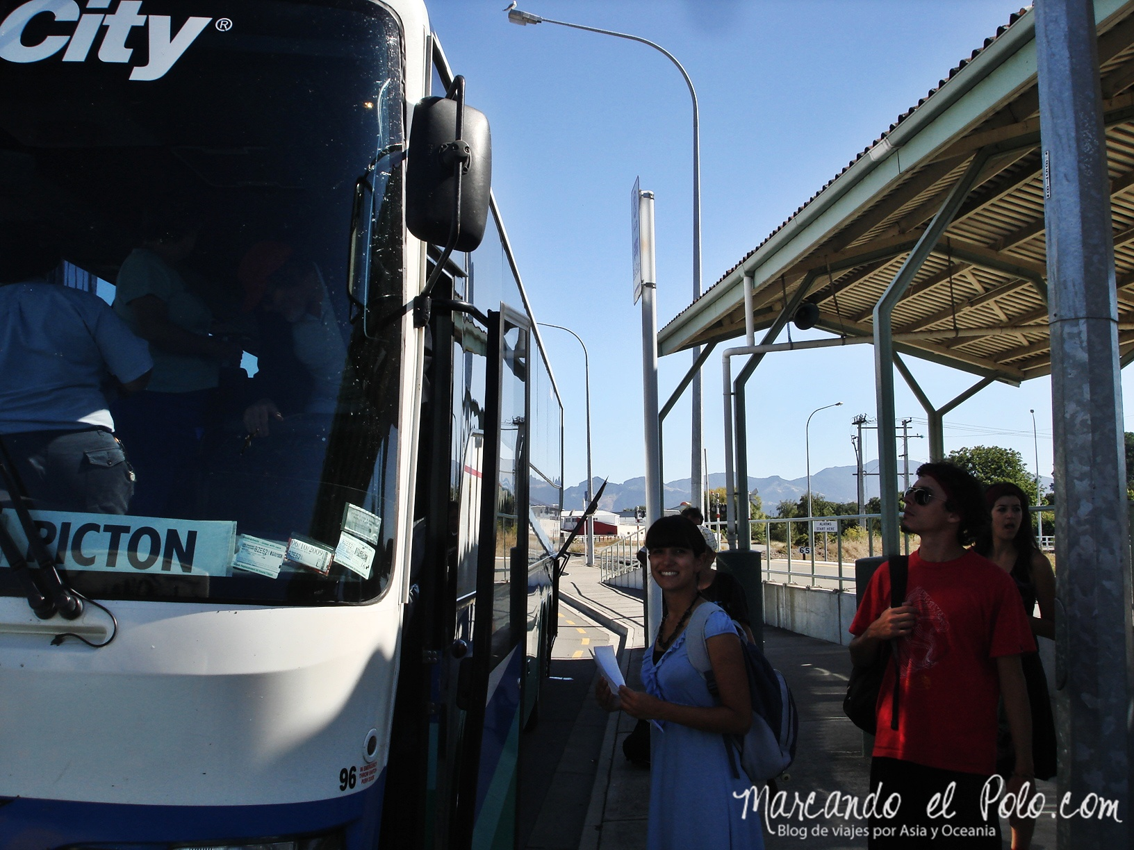 Working Holiday Nueva Zelanda: bus Intercity