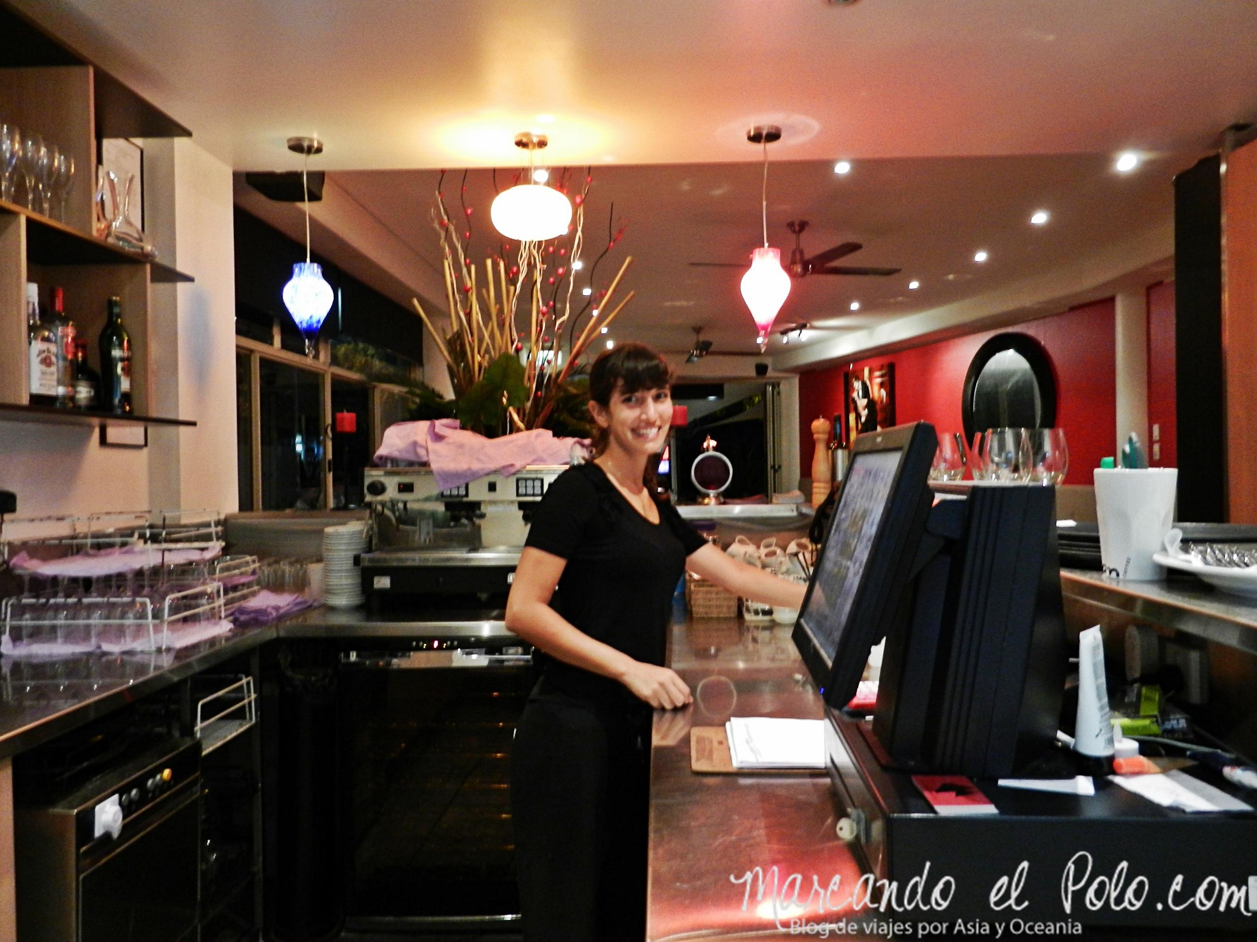 Trabajo en Nueva Zelanda: restaurante