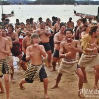 El tan esperado Hakka en el Waitangi Day, Nueva Zelanda