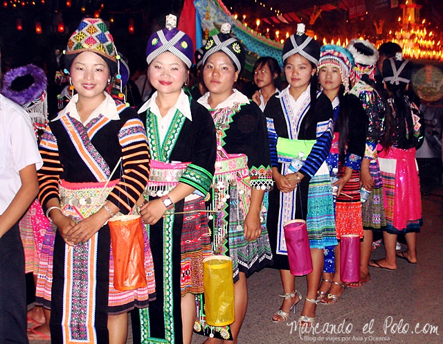 Festival Loy Kathoung en Luang Prabang