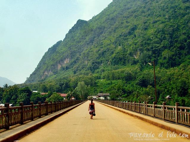 Puente de Nong Khiaw - Laos