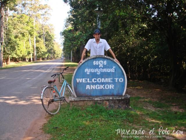 Entrada a los Templos de Angkor