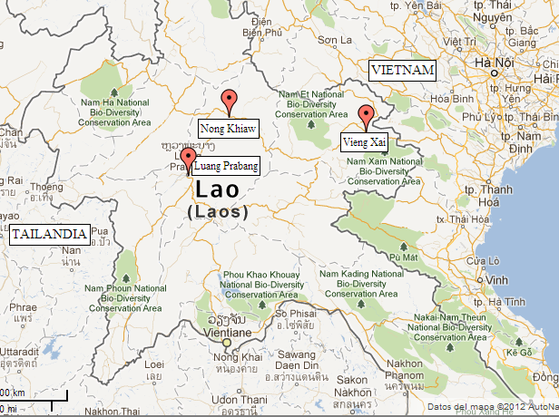 Recorrido por el Norte de Laos