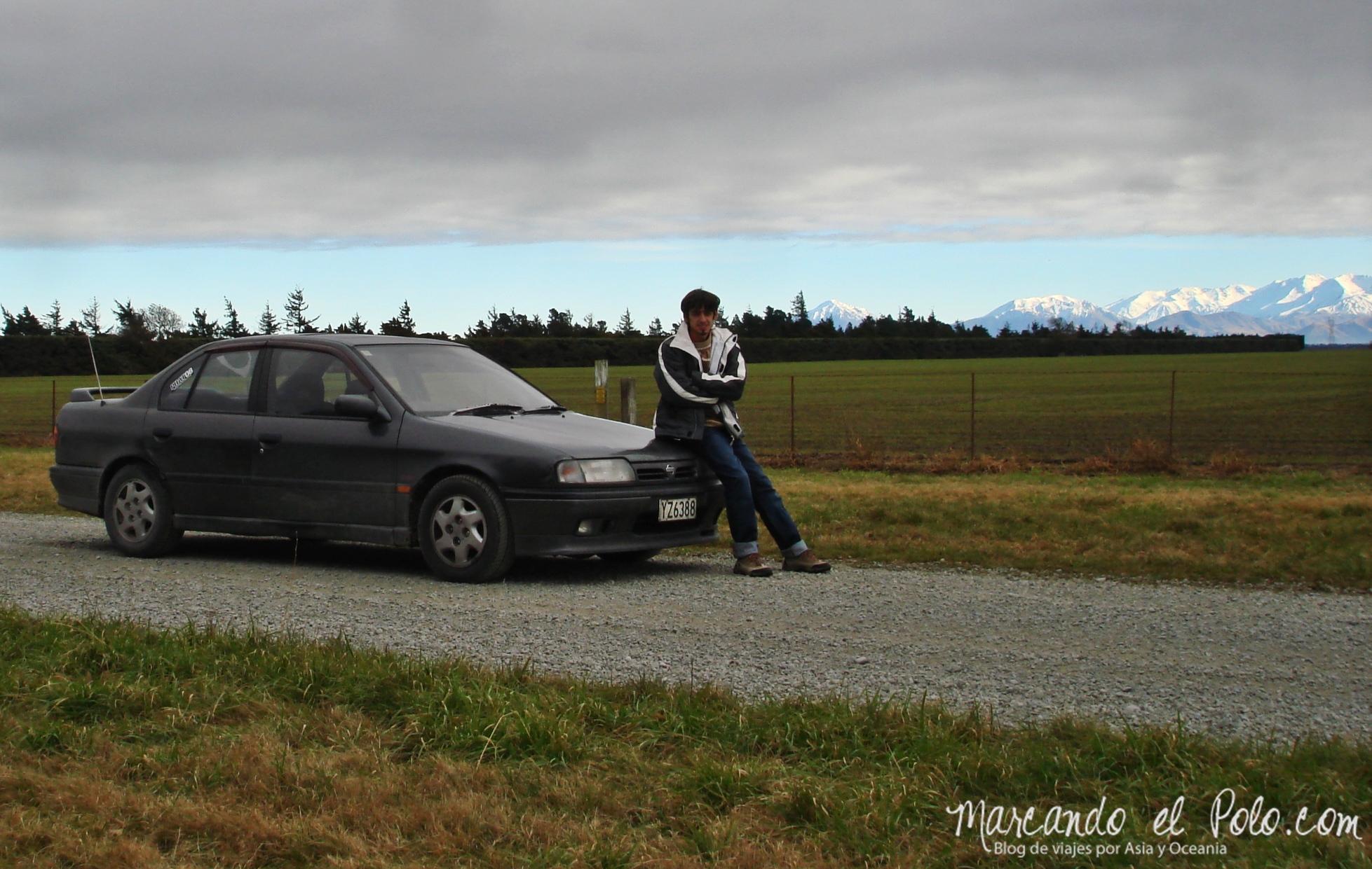 Comprar un auto en Nueva Zelanda: Nissan Primera