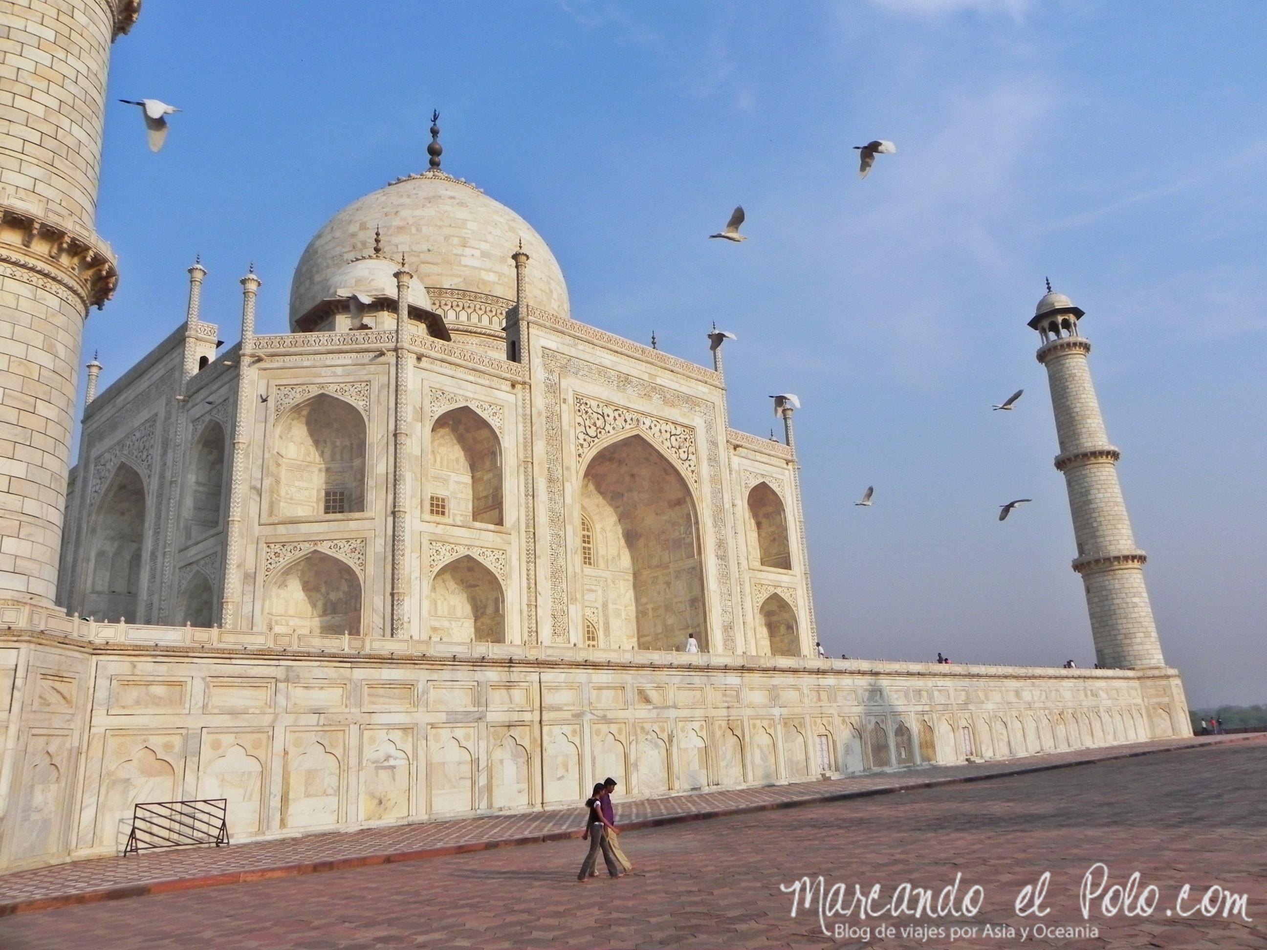 Presupuesto para viajar a India: Taj Mahal