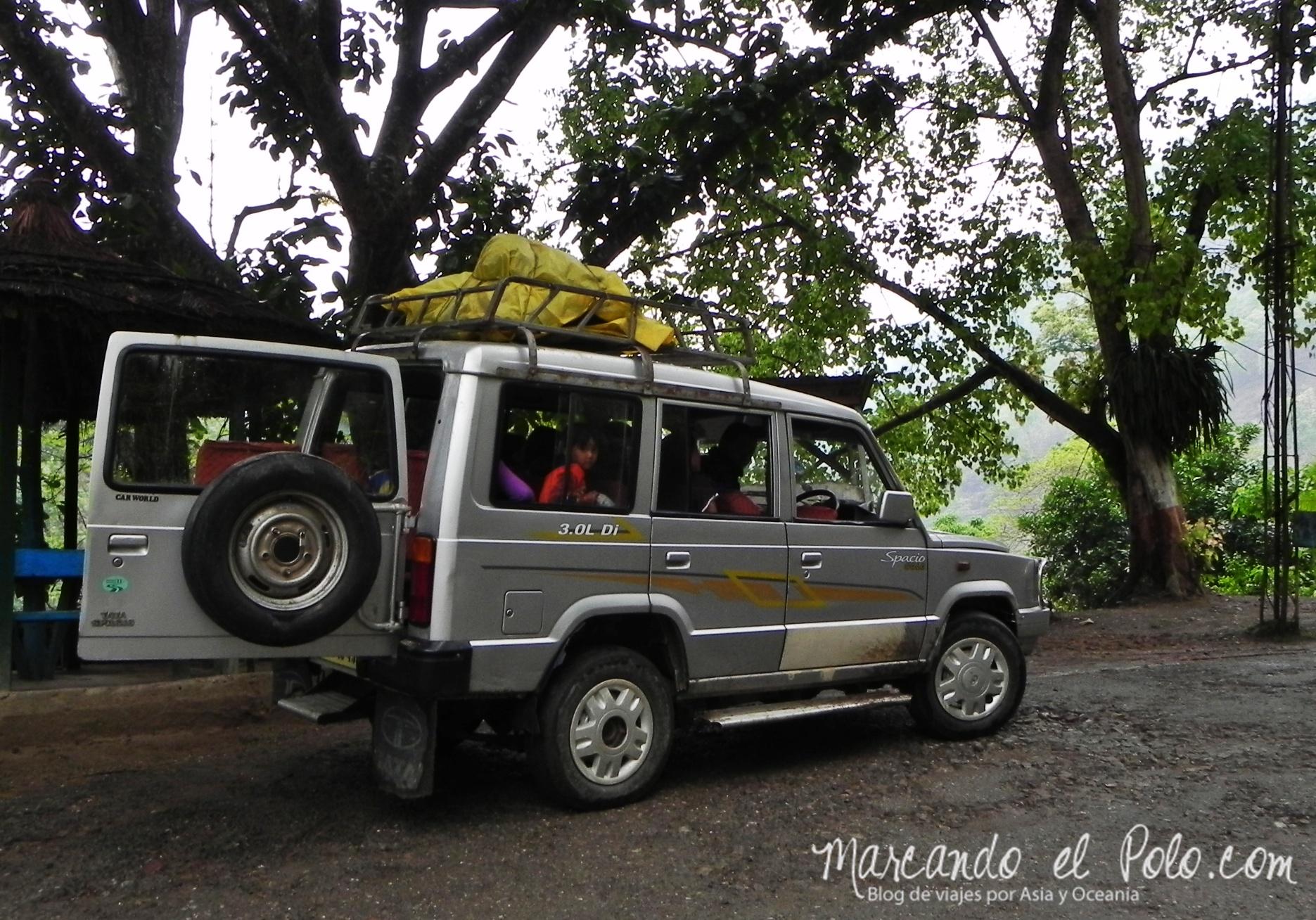 Presupuesto para viajar a India: Viajar en jeep en Sikkim