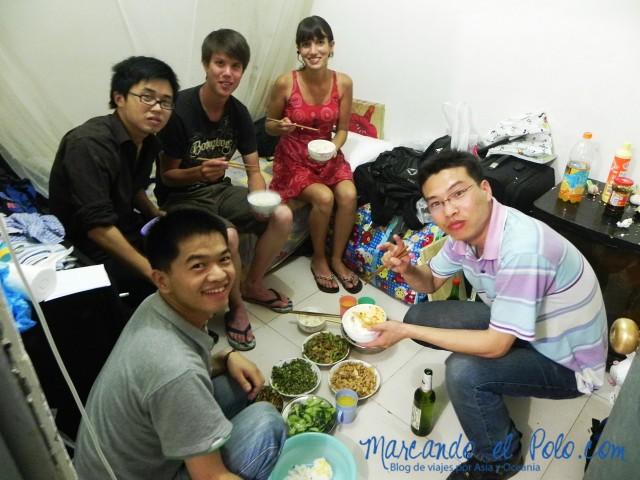 Couchsurfing en Beijing