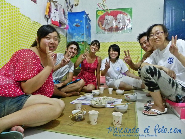 Couchsurfing en Xi'an, China