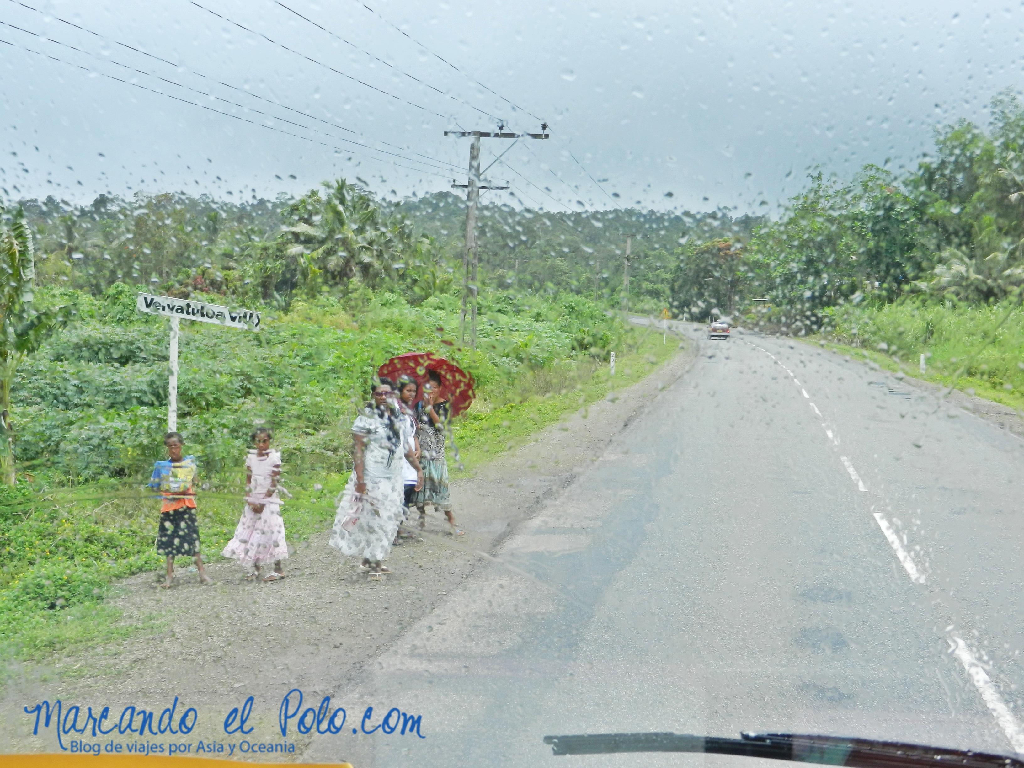 Temporada de lluvias en Fiyi
