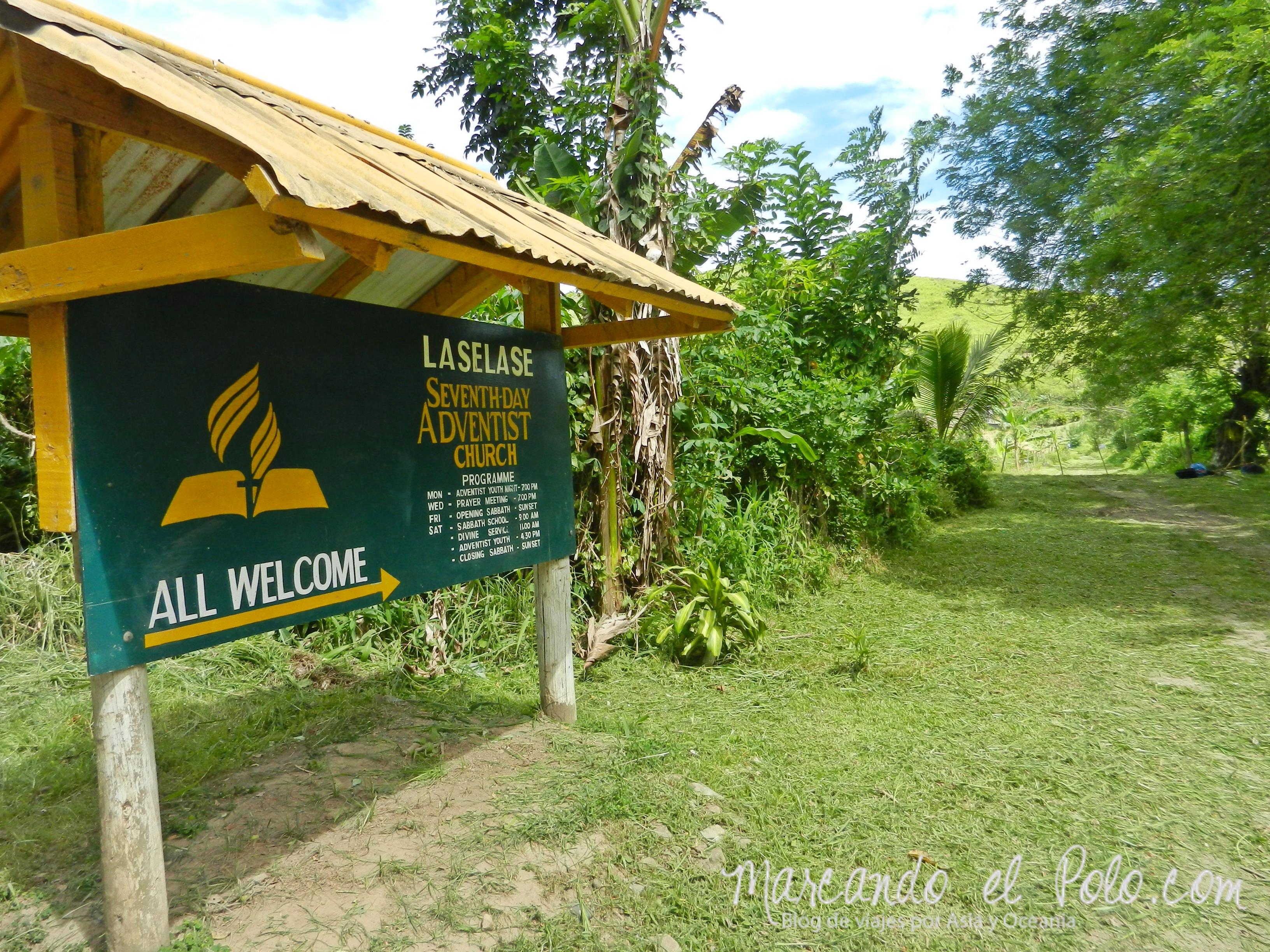 Iglesia adventista en Fiyi