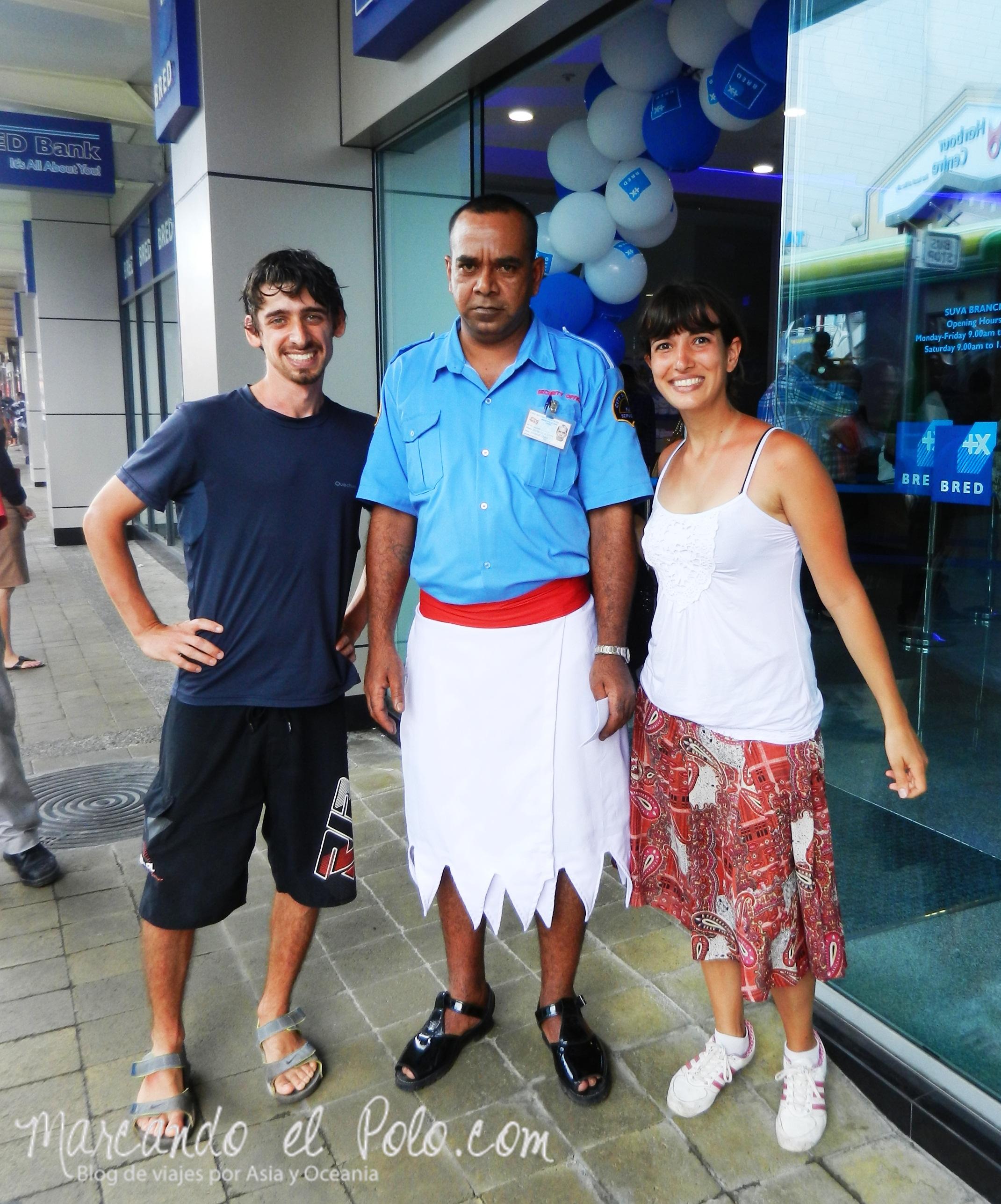 Uniforme policial en Fiyi