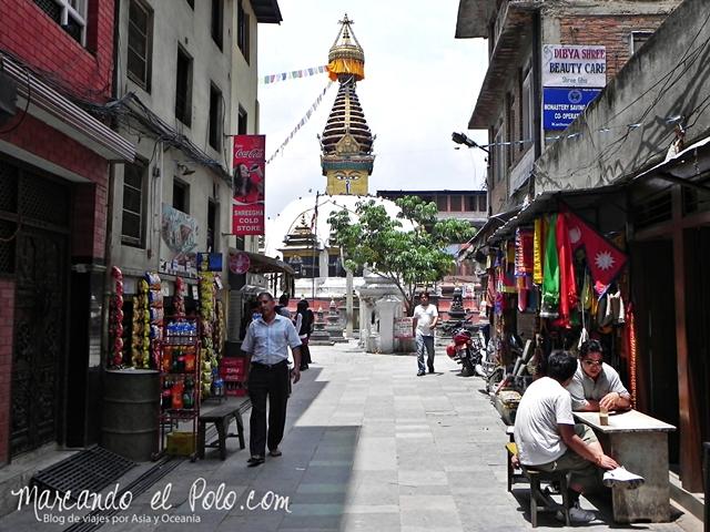 Viajar a Katmandu - Stupa Katheshimbu, Nepal