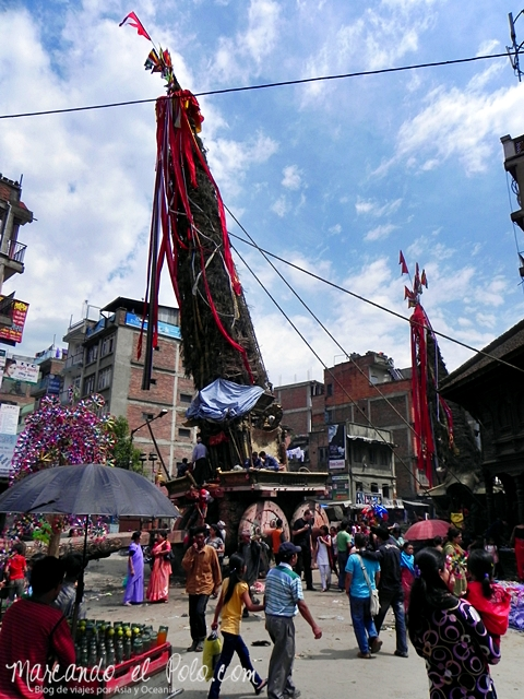 Viajar a Nepal - Festival en Patan