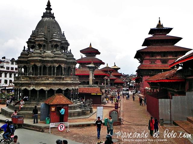 Viajar a Patan - Plaza Durbar