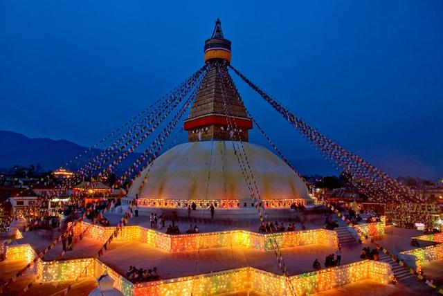 Viajar a Nepal - Stupa Boudhanath