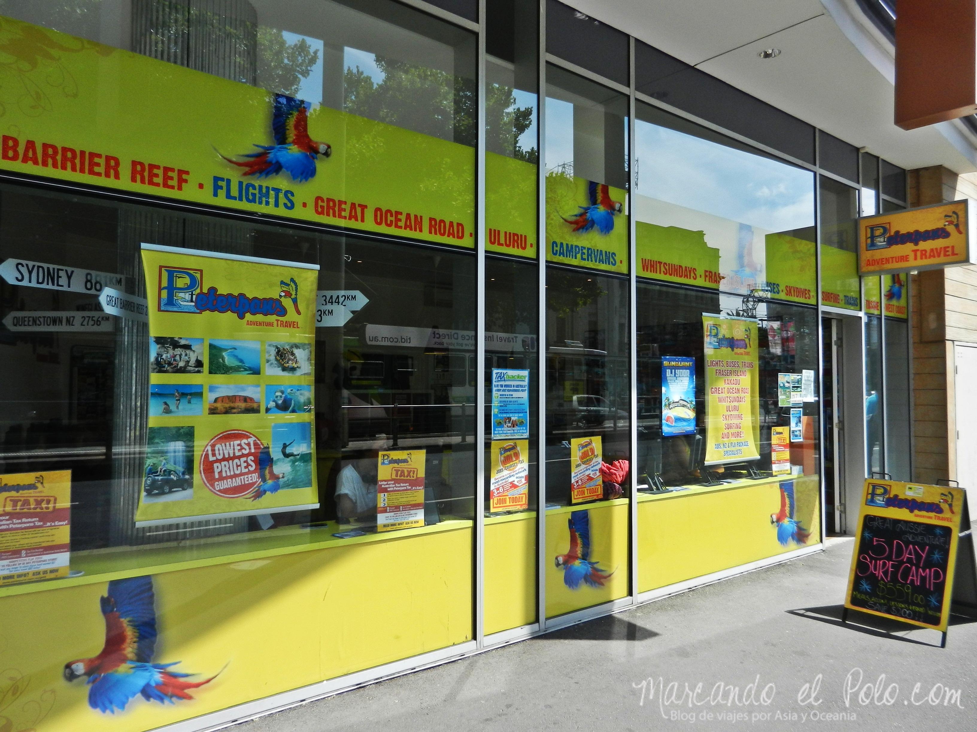 Viajar barato por Melbourne: agencia con internet gratis