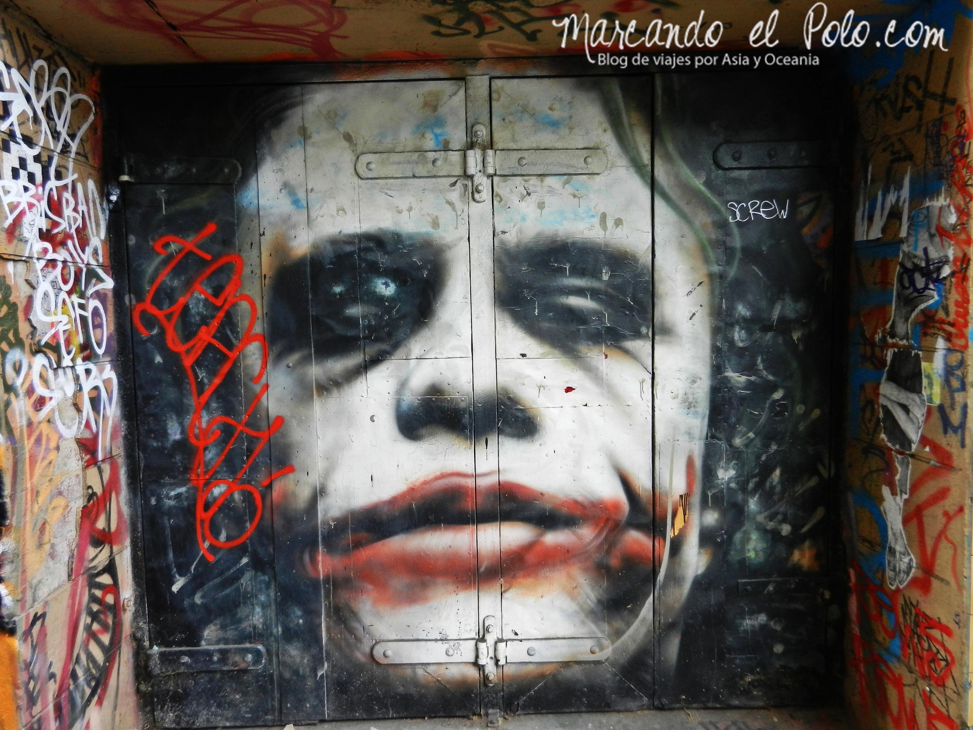 Viajar barato por Melbourne: arte callejero
