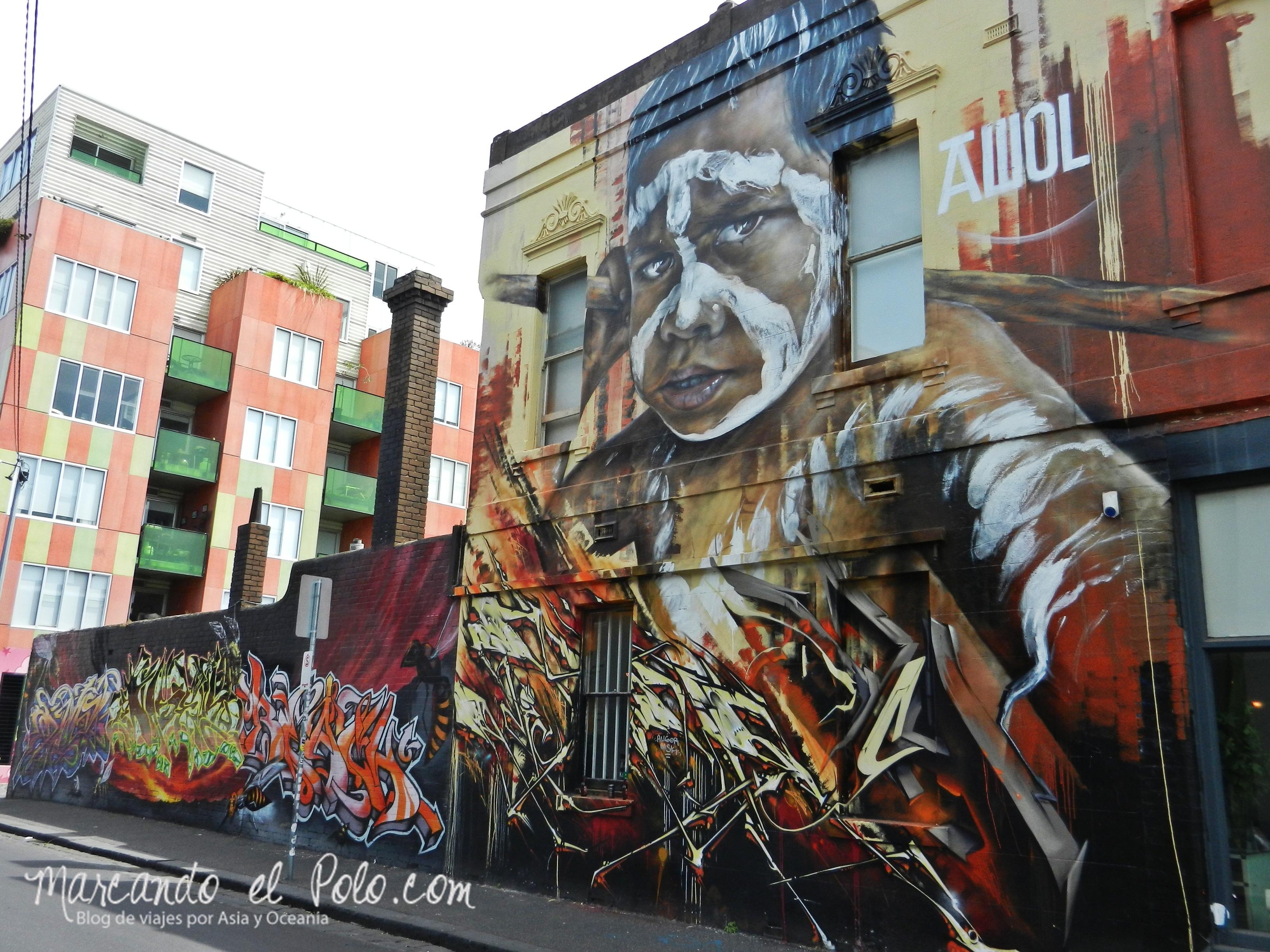 Viajar barato por Melbourne: arte en las calles