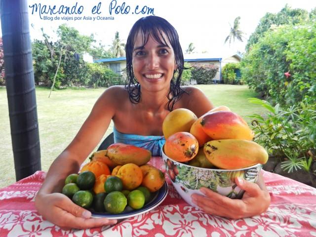 Presupuesto para viajar a Fiyi: mangos gratis