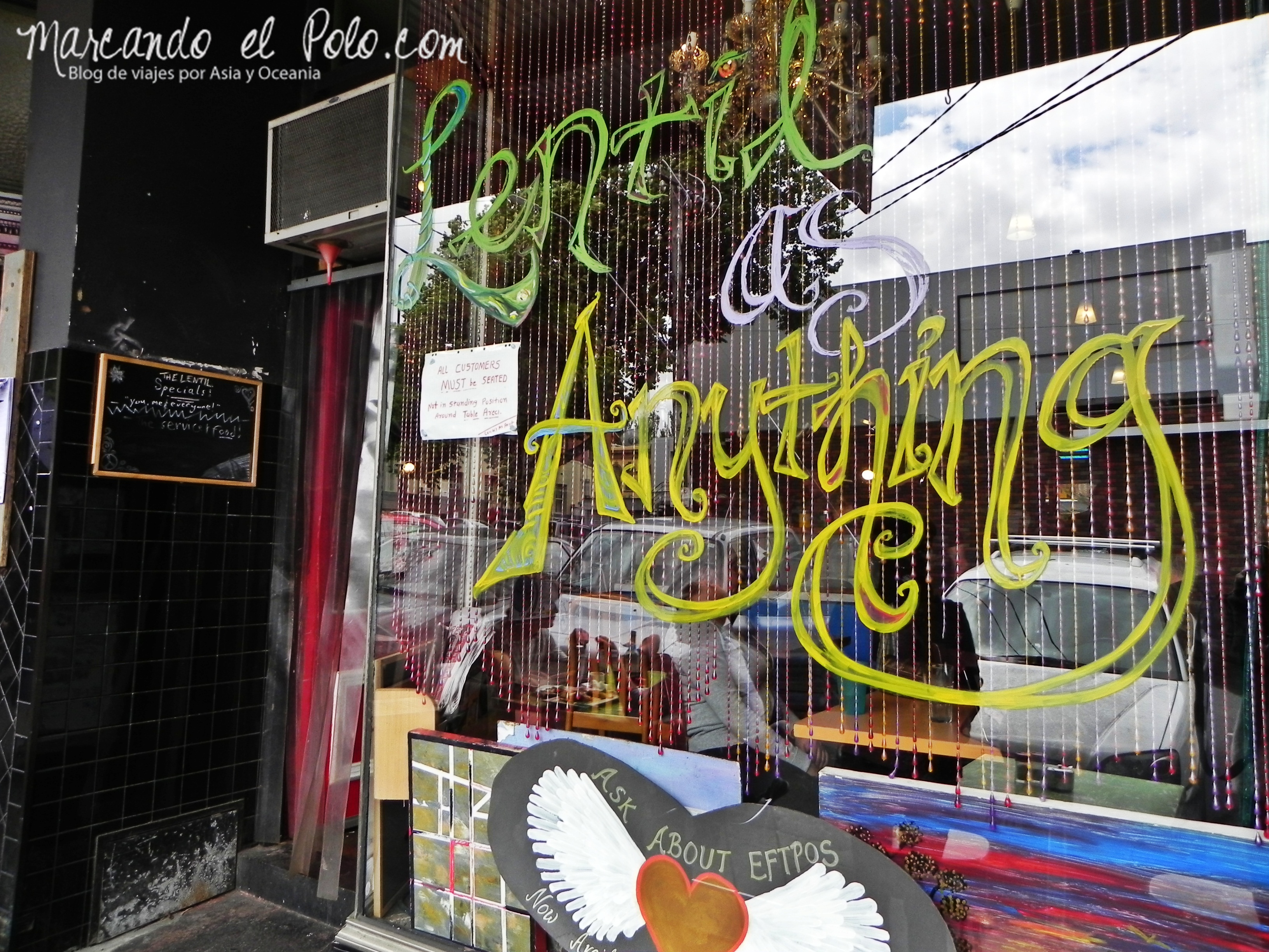 Viajar barato por Melbourne: Lentil as anything