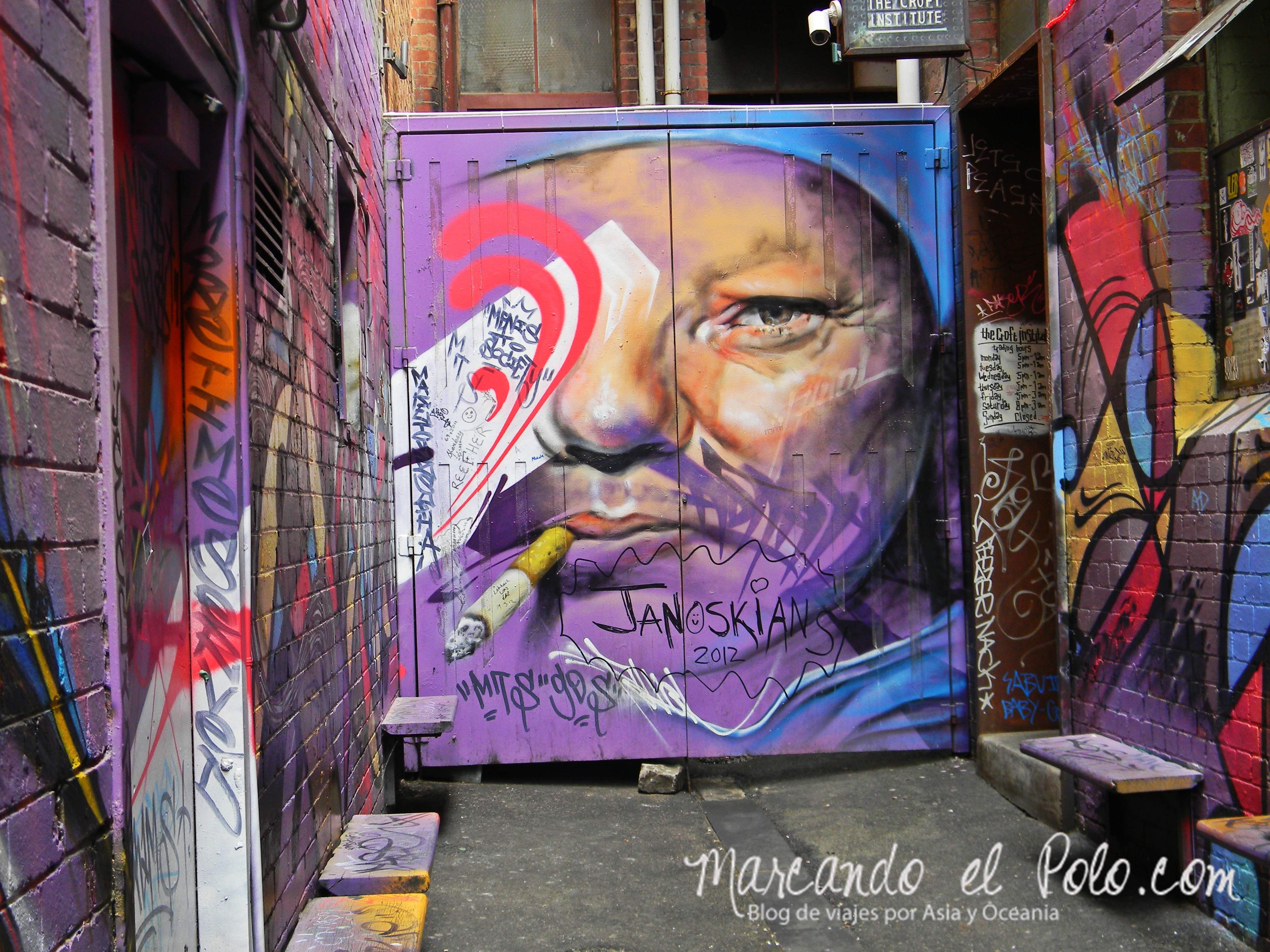 Viajar barato por Melbourne: arte en cada rincón