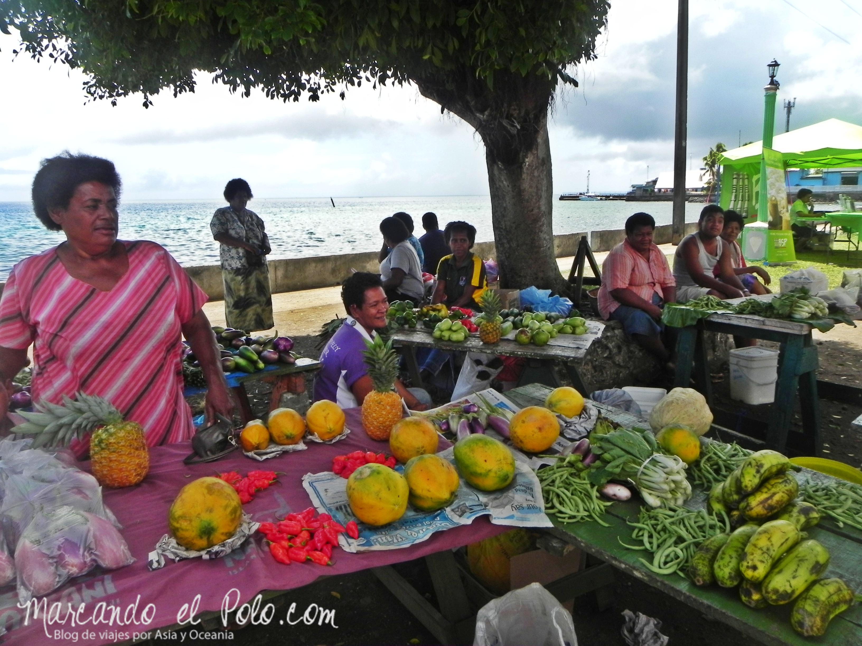 Presupuesto para viajar a Fiyi: comida