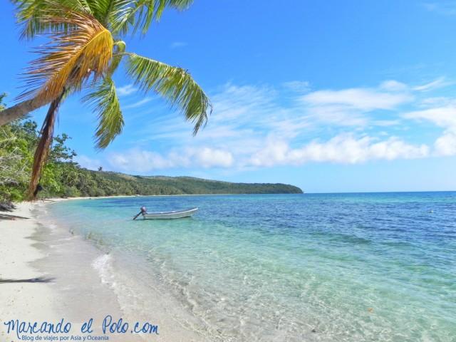 Presupuesto para viajar a Fiyi: Playa Nananu-i-ra