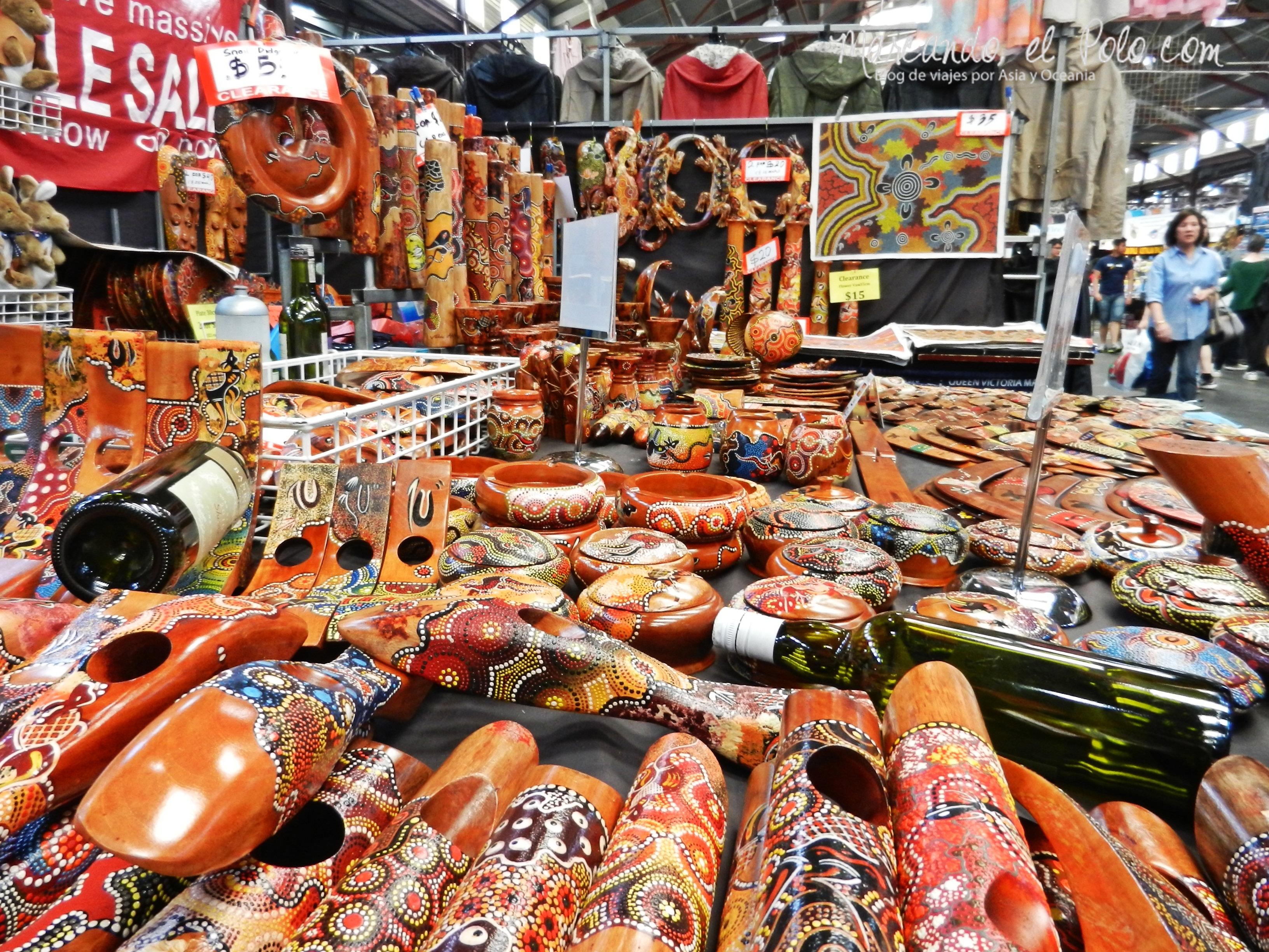 Viajar barato por Melbourne: Victoria Market