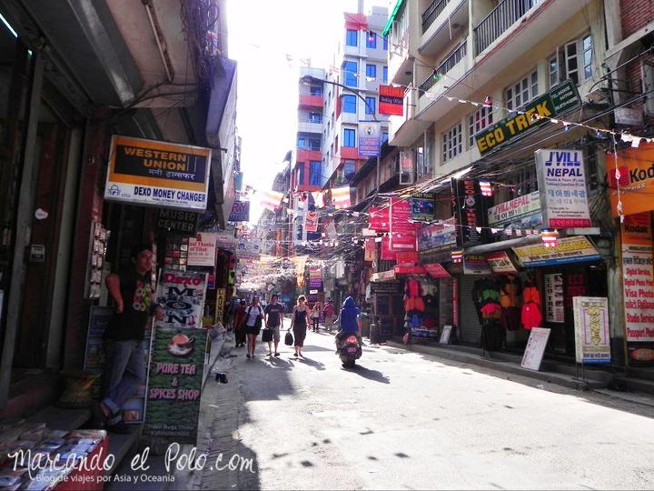 Por las calles de Thamel, Katmandú