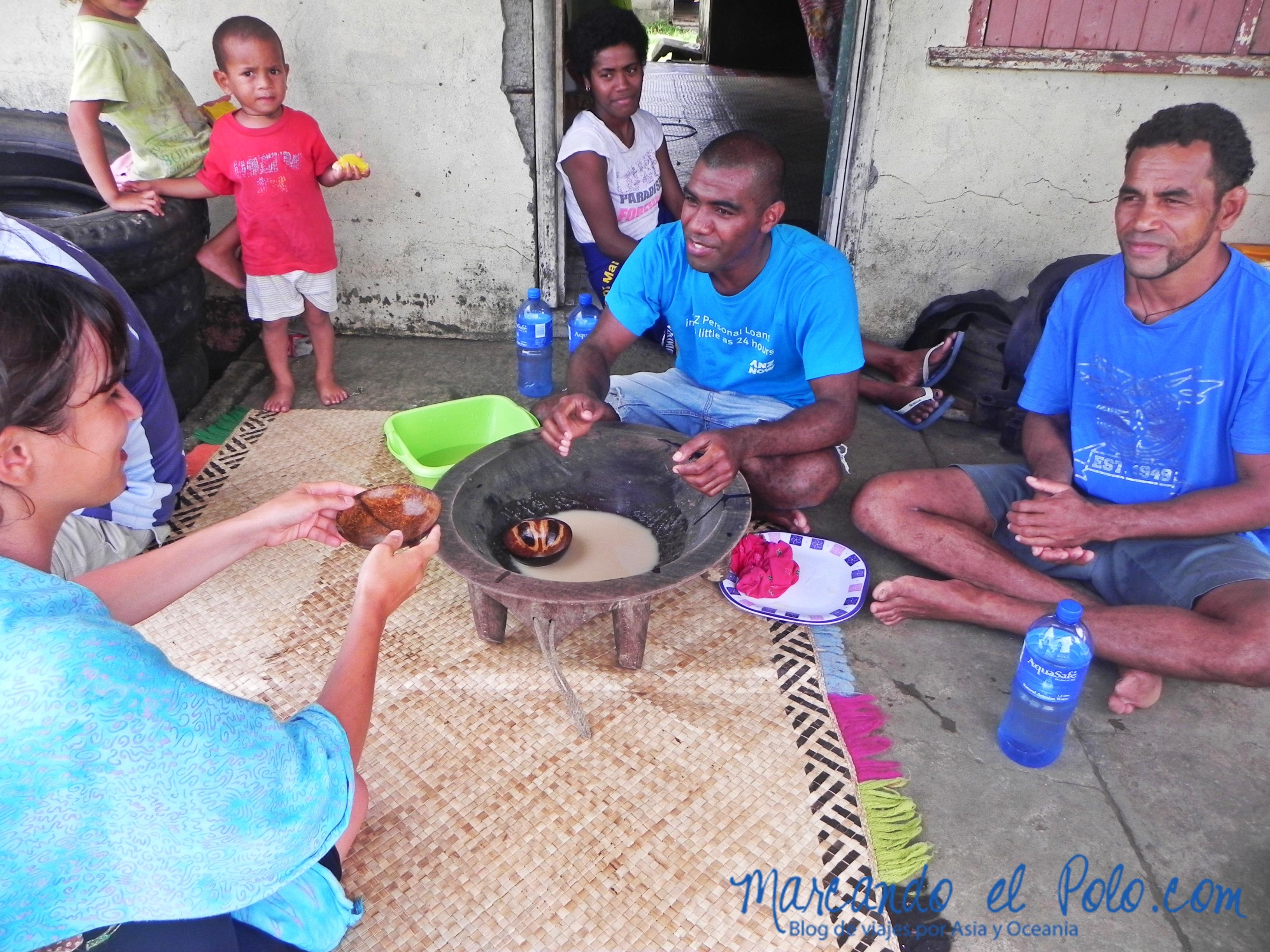 Kava en Fiyi: ritual