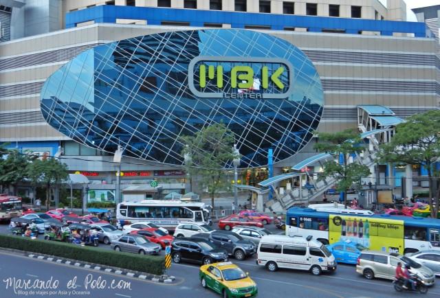 Primer viaje a Bangkok: Shopping MBK