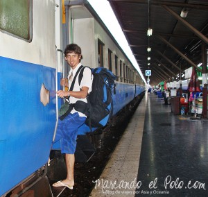 Transporte en el Sudeste asiatico: Tren en Tailandia