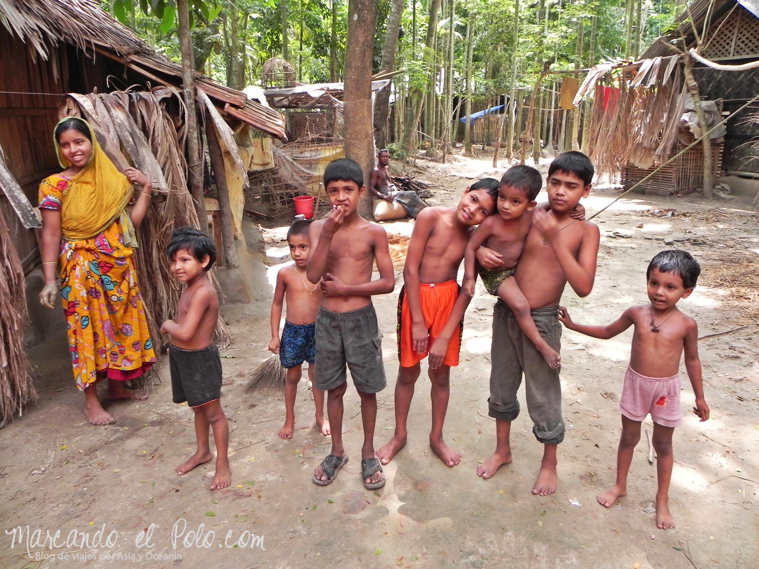 Familia en Bangladesh