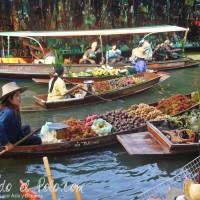 Floating Market. Bangkok, Tailandia