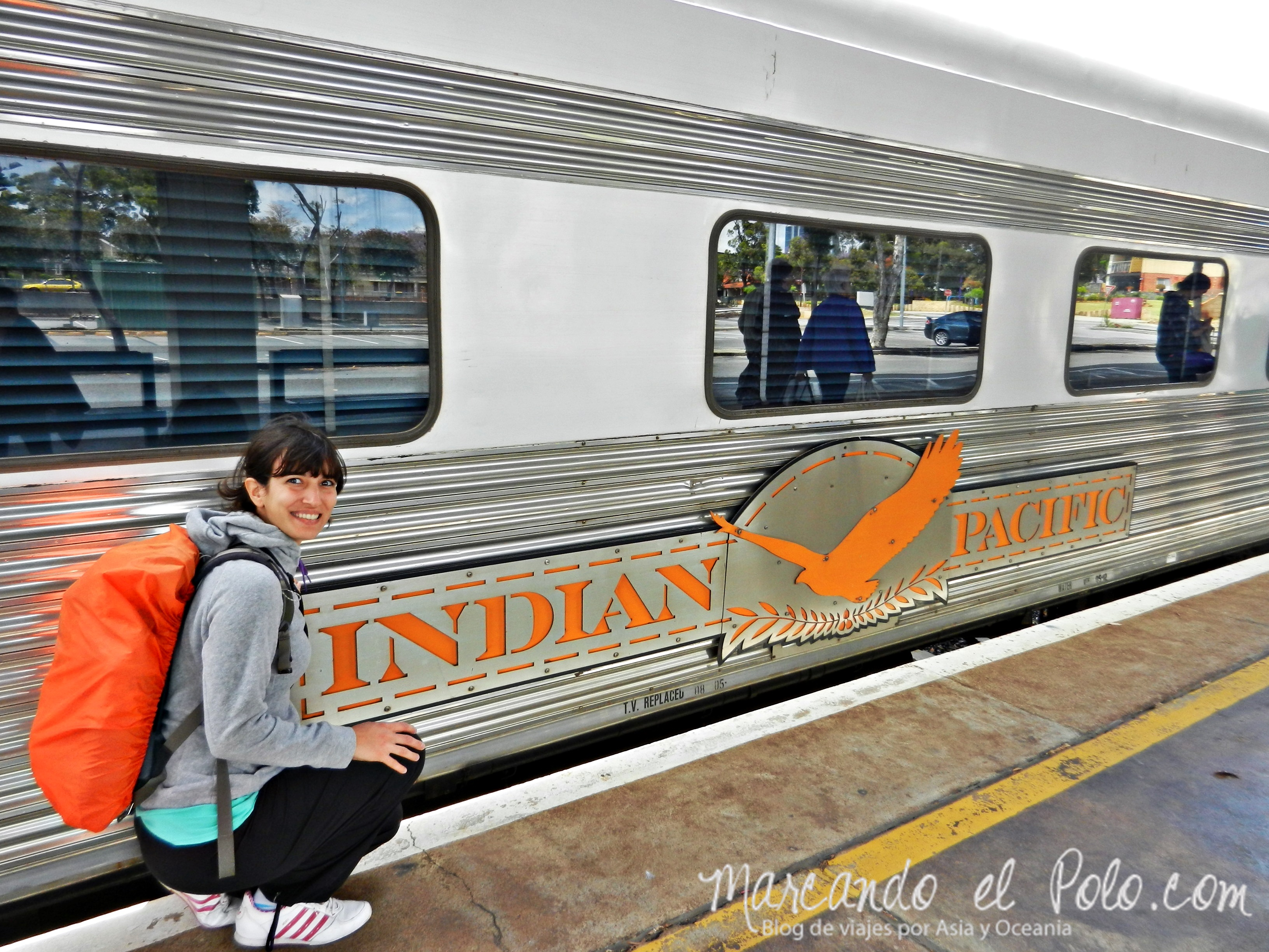 "Working Holiday Australia: ""Indian Pacific"" cruza Australia de punta a punta."