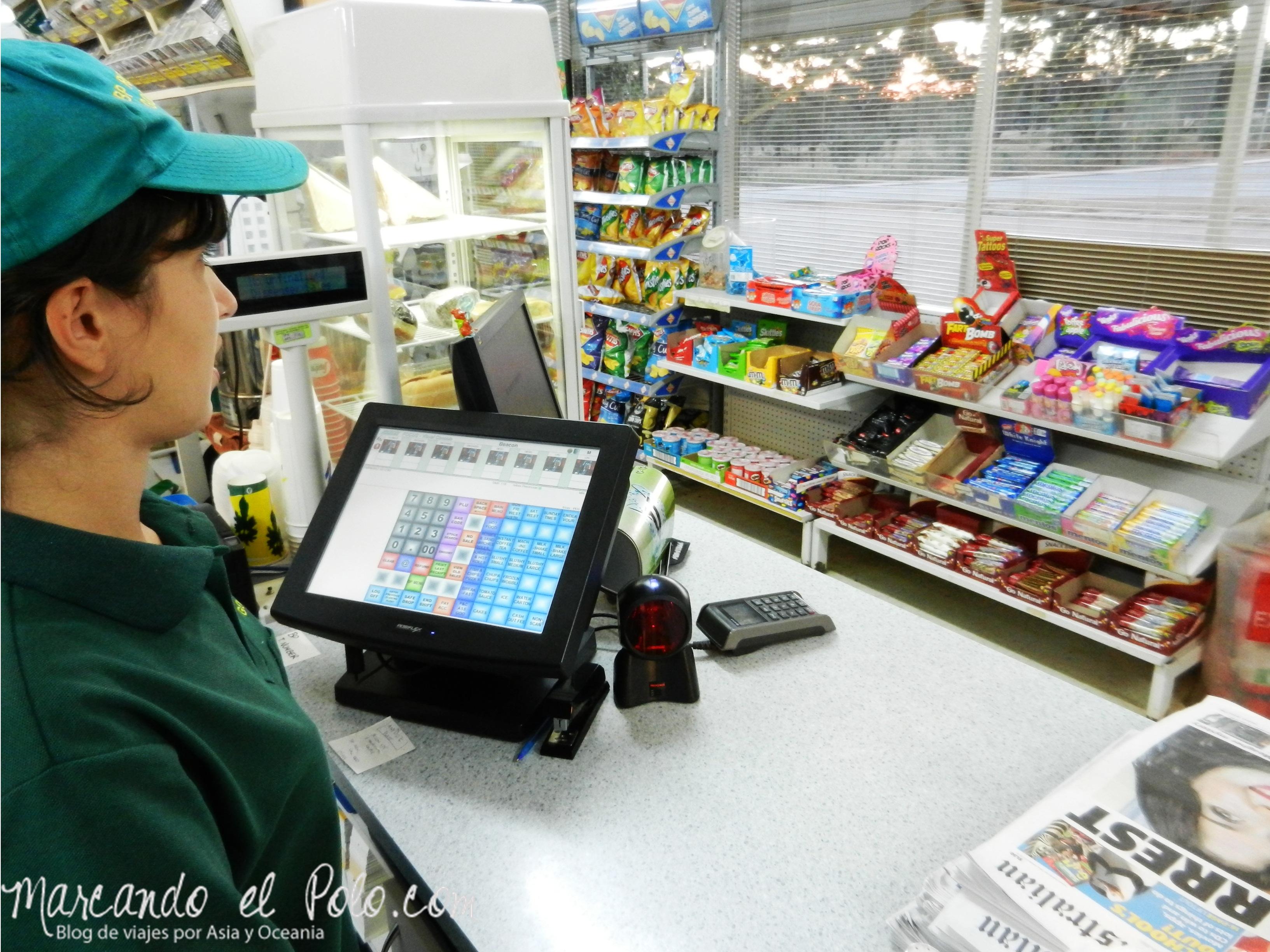 Trabajo en Australia: estación de servicio en Western Australia