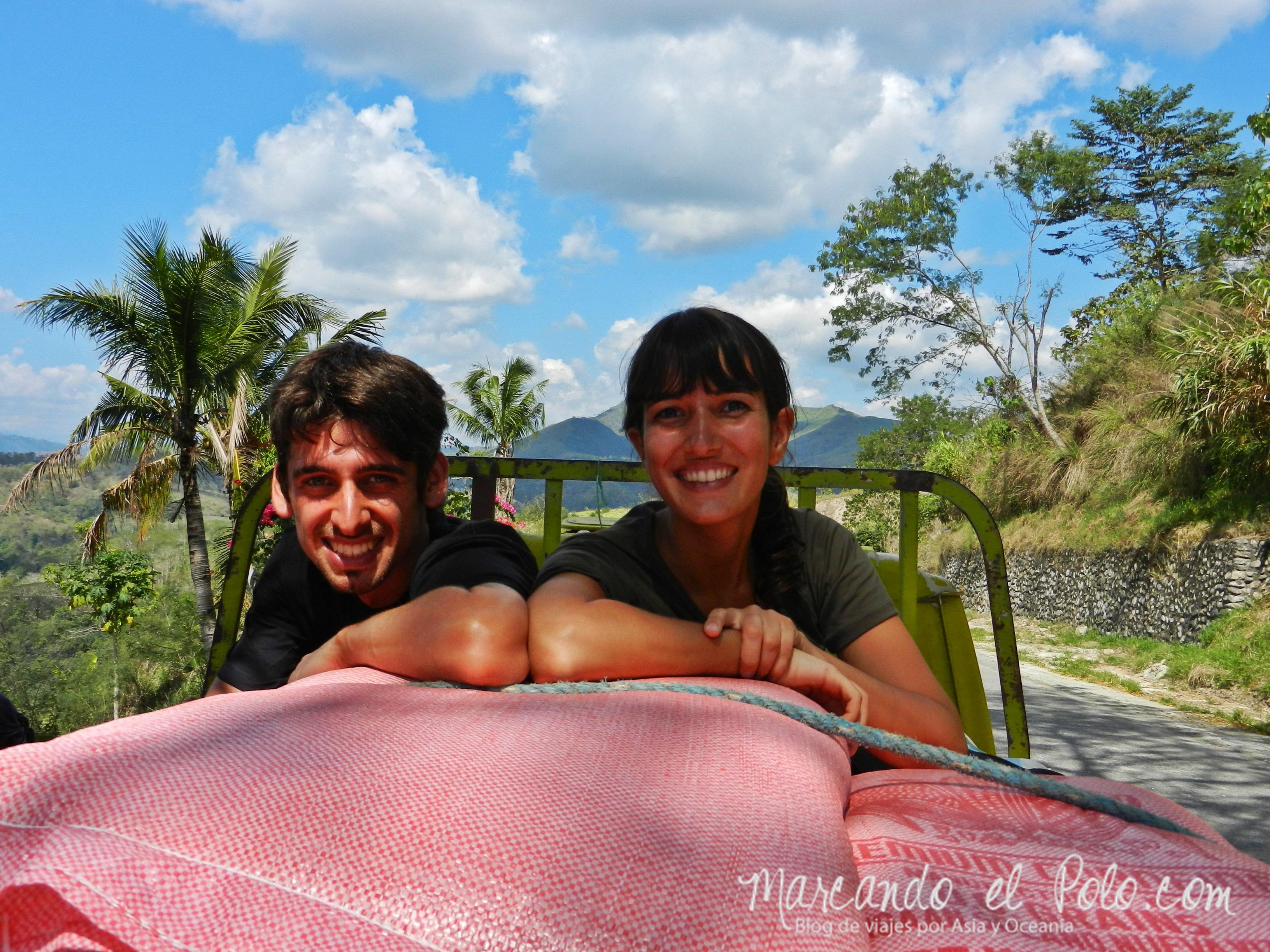 Terrazas de arroz filipinas: Autostop