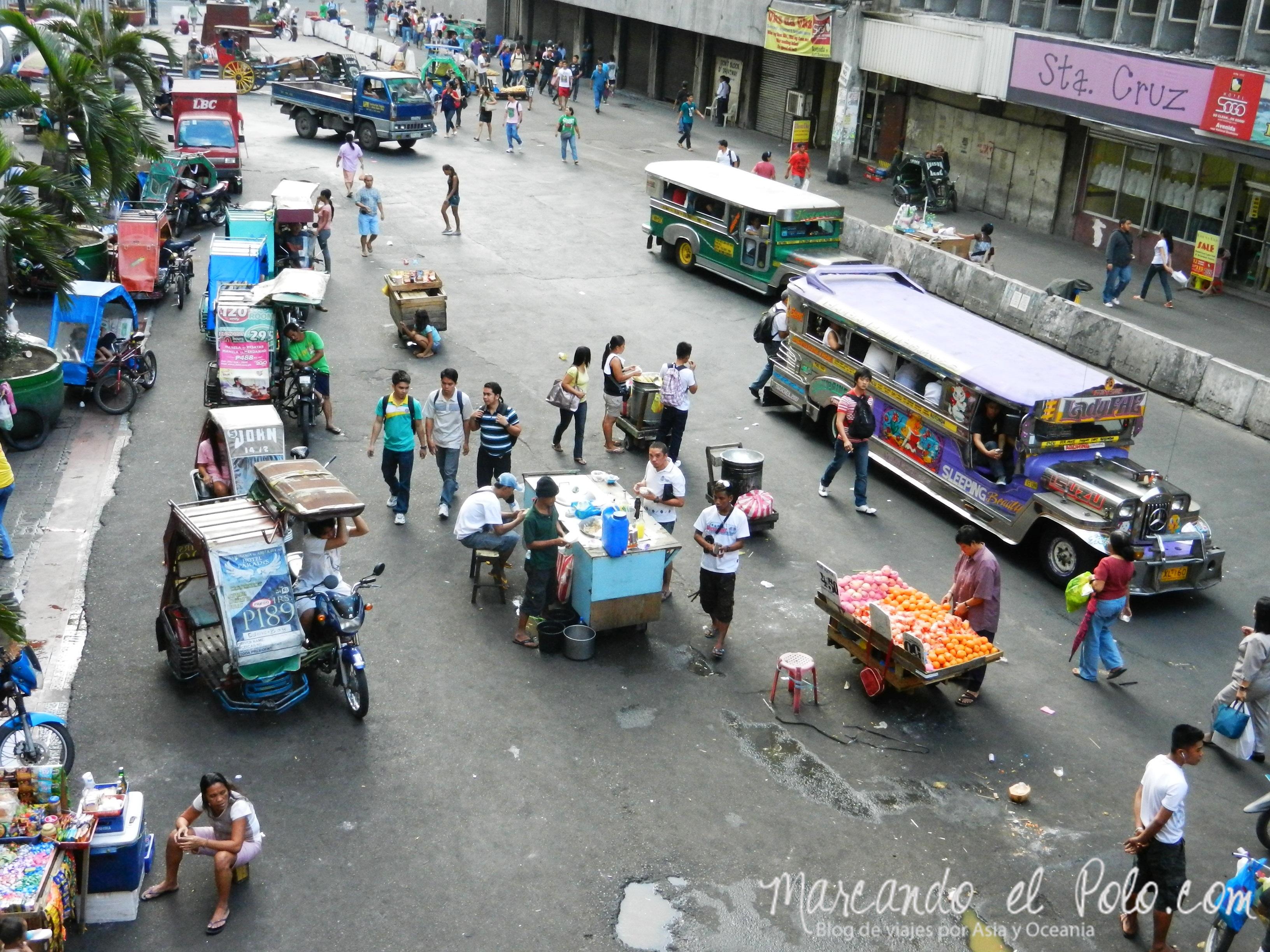 Viajar a Filipinas: Caos en Manila.