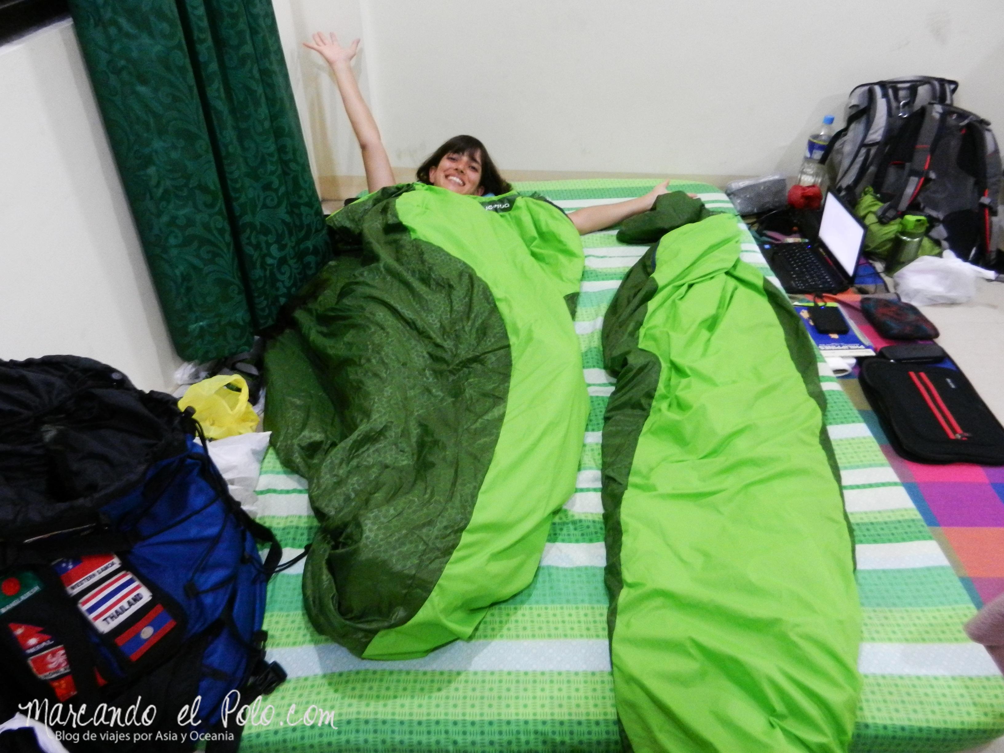 Terrazas de arroz filipinas: durmiendo en la iglesia