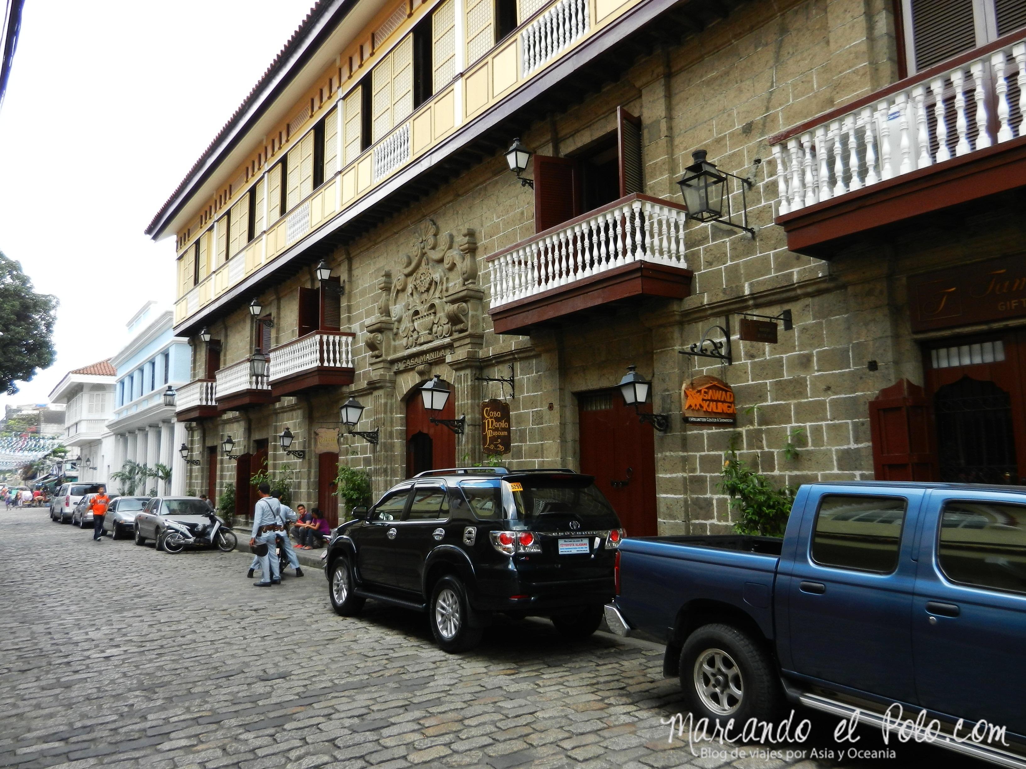 Intramuros, la cara bonita de Manila, Filipinas