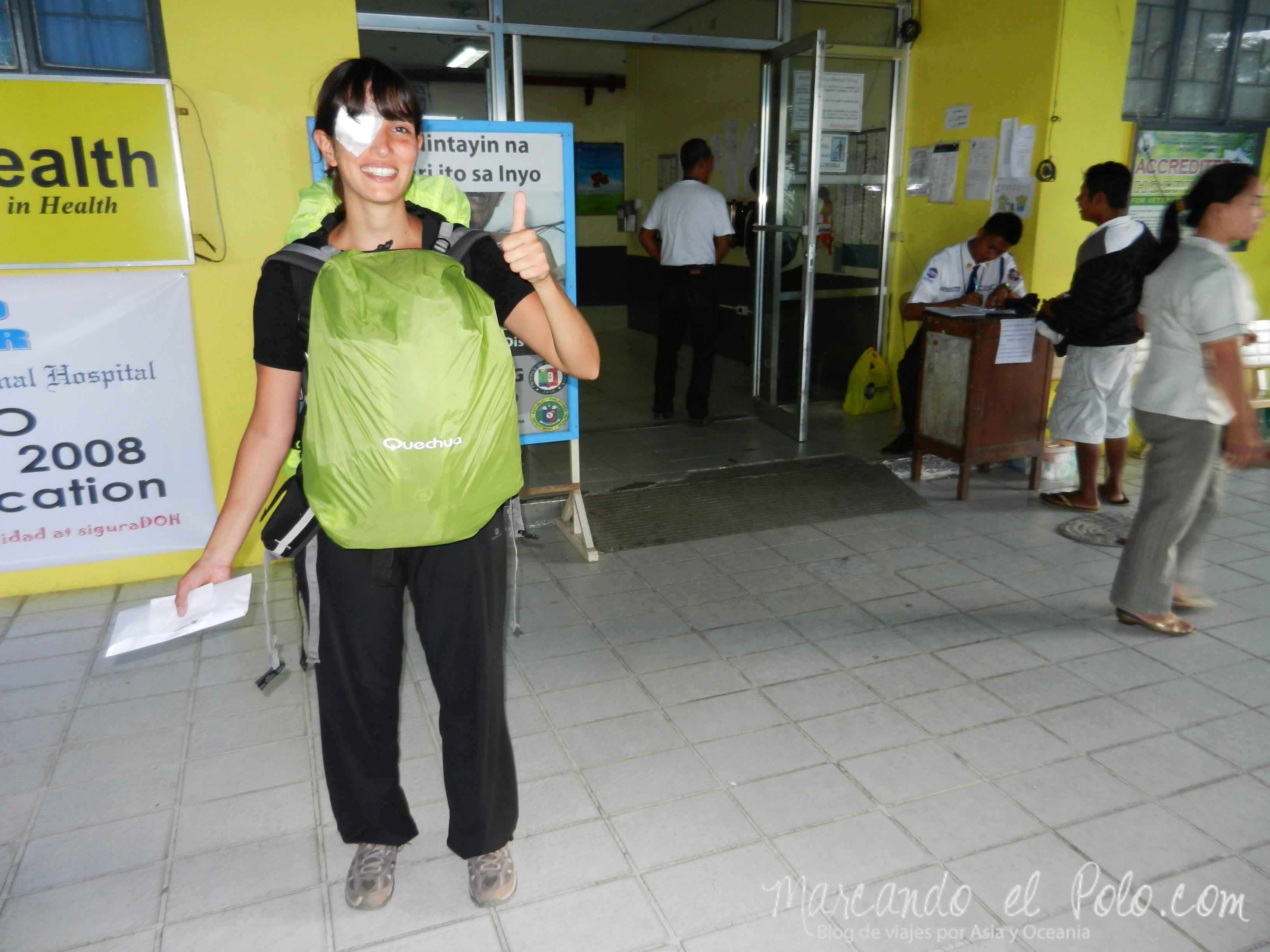 Terrazas de arroz filipinas: Saliendo del hospital de Solano