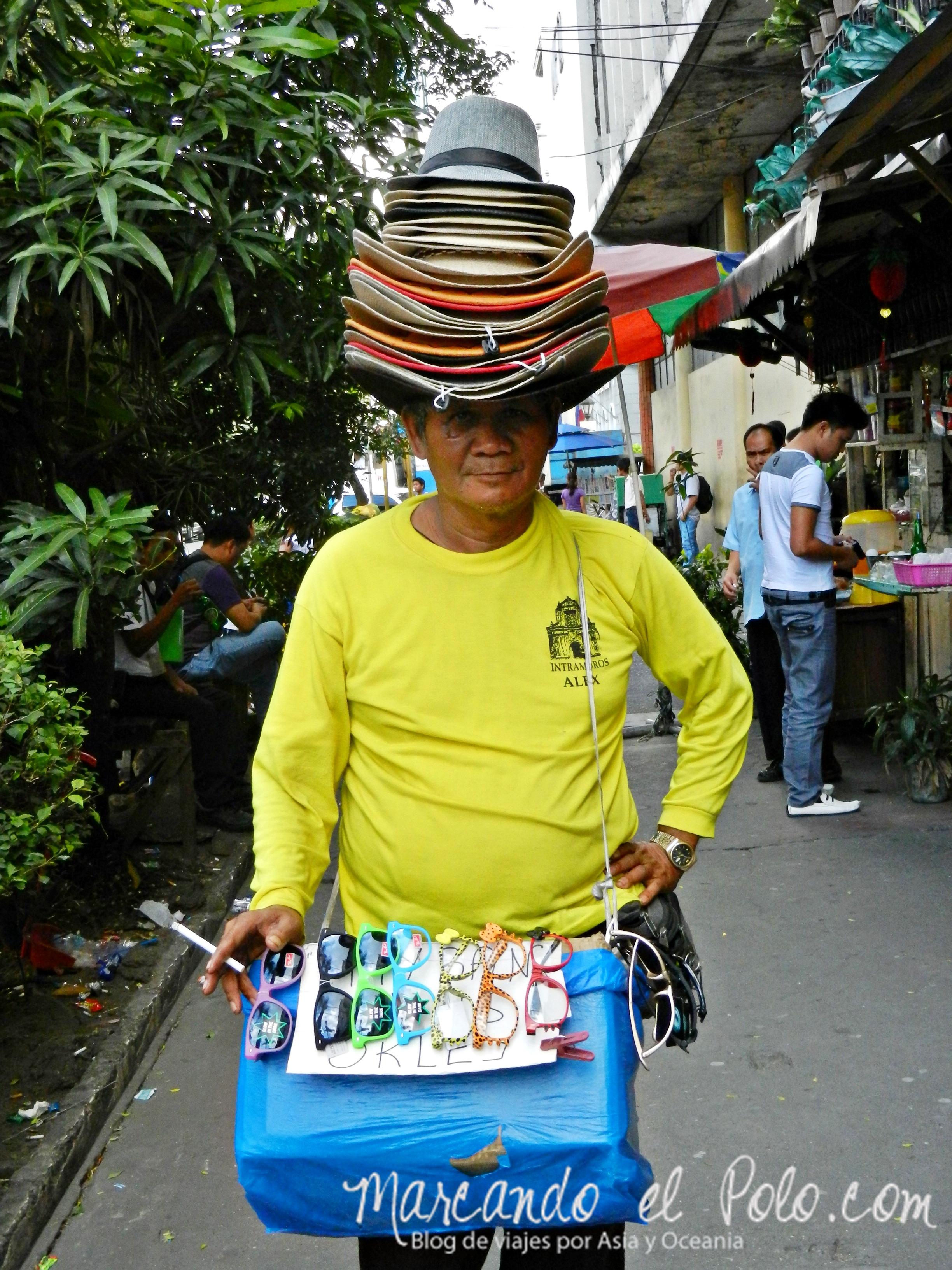 Vendedor en Manila, Filipinas