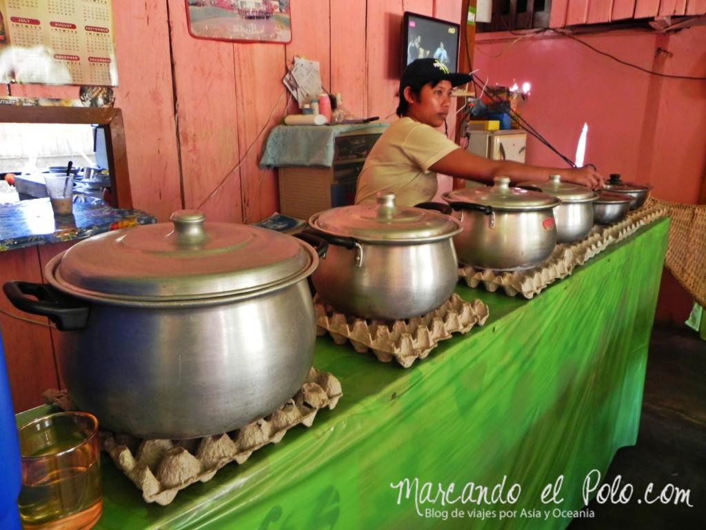 Viajar a Filipinas: karinderia